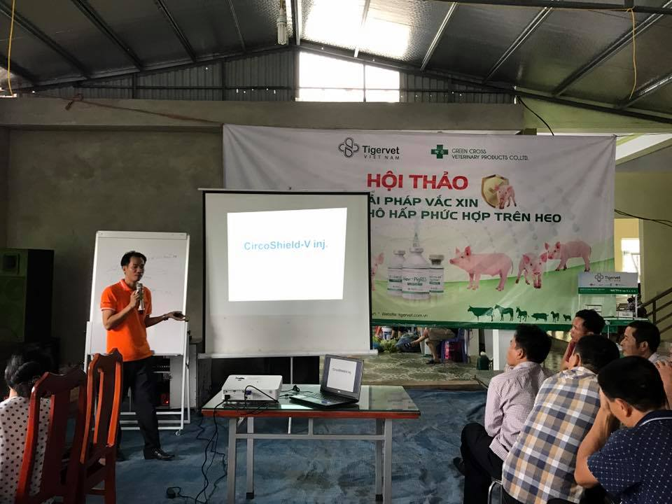 "Tigervet Vietnam holds seminar series on ""Vaccine solution to prevent Porcine Respiratory Disease Complex"""